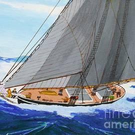 Bill Hubbard - Shortning Sail to Cross the Bar