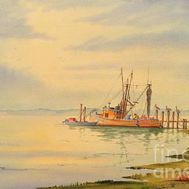 Bill Holkham - Shrimp Boat Sunset