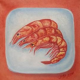 Judy Jones - Shrimp on a Platter