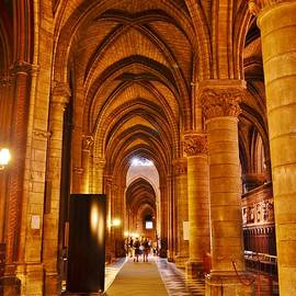 Kim Bemis - Side Hall Notre Dame Cathedral - Paris