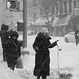 Miriam Danar - Sidewalks of New York - Winter Storm