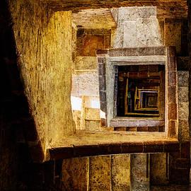 Weston Westmoreland - Siena - Staircase Of Torre Mangia - Vintage Version