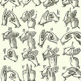 Sign Language Alphabet - English School