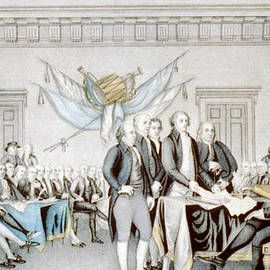 Signing the Declaration of Independence - American School