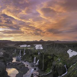 Bob Neiman - Sigoldufoss Waterfalls Iceland 1307