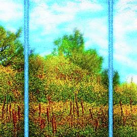 Joel Bruce Wallach - Silence Of A Wild Meadow - Triptych