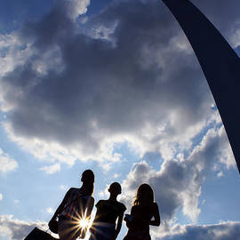 Jennifer White - Silhouette at the Arch