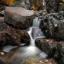 Juergen Roth - Silver Cascade at Crawford Notch State Park