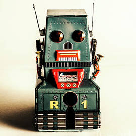 Simple robot from 1960 - Jorgo Photography - Wall Art Gallery