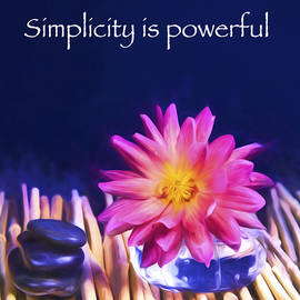 Daphne Sampson - Simplicity is Powerful Zen Stones