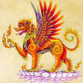 Rebecca Wang - Singha Winged Lion