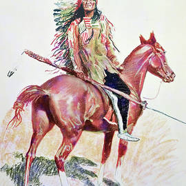 Sioux Chief - Frederic Remington