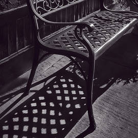 F Leblanc - Sitting In The Morning Sun - Monochrome