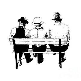 Sitting On A Park Bench - Edward Fielding
