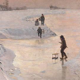 Skaters, 1891 - Emile Claus