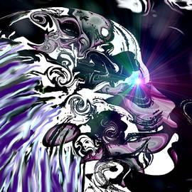 Skeleton soul space gazing.