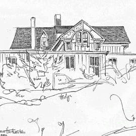 Joan Hartenstein - Sketchbook, Watch Hill RI