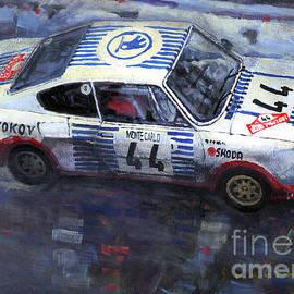 Skoda 130 RS #44 Monte Carlo 1977 - Yuriy Shevchuk