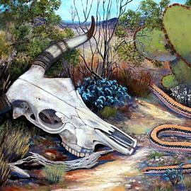 M Diane Bonaparte - Skull Desert Scene