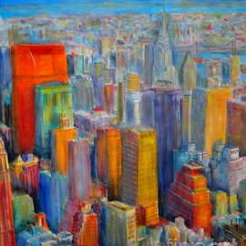 Dagmar Helbig - Skyline New York