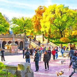 Regina Geoghan - Slice of LIfe NYC-Bethesda Terrace Central Park