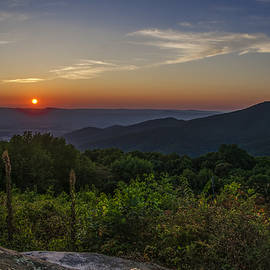 Bill Cannon - Skyline Drive National Park at Sunset