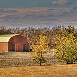 William Sturgell - Small Barn in a Large Field