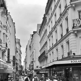 Kim Bemis - Small Street in Paris