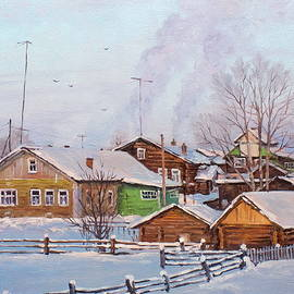 Alexander Volya - Small village houses