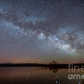 Benjamin Reed - Smith Lake Milkyway Reflections