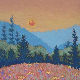 Dorothy Jenson - Smoky Sunset