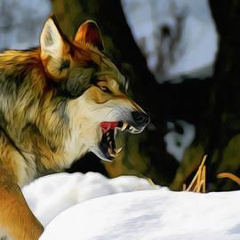 Ernie Echols - Snarling Wolf 2