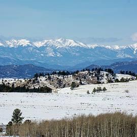 John Bartelt - Snow Capped Sangre De Cristo Range