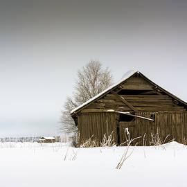 Jukka Heinovirta - Snow Covered Barn Houses