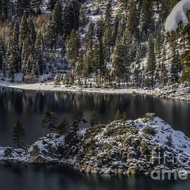 Mitch Shindelbower - Snow Covered Fannett Island