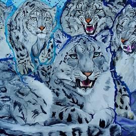 Raymond Perez - Snow Leopards