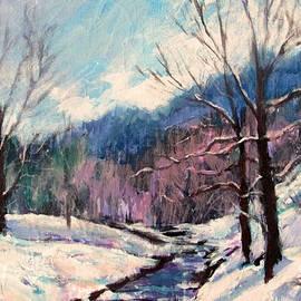 Bonnie Mason - Snow on Goose Creek