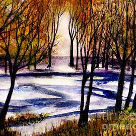 Randy Sprout - Snow on Lower Pasture Tonight