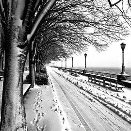 Debra Banks - Snow on the Promenade, New York