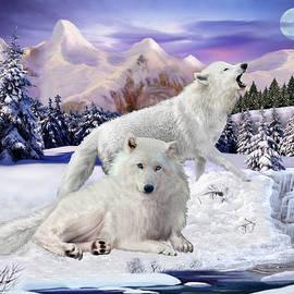 Glenn Holbrook - Snow Wolves of the Wild