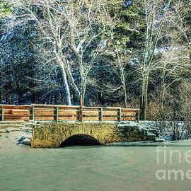 Tina  LeCour - Snowfall On The River