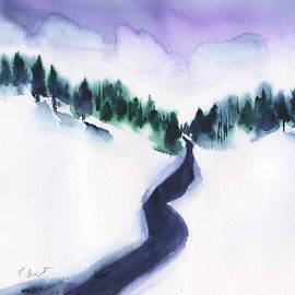 Frank Bright - Snowy Creek