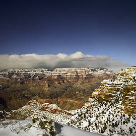 Sally Weigand - Snowy Grand Canyon
