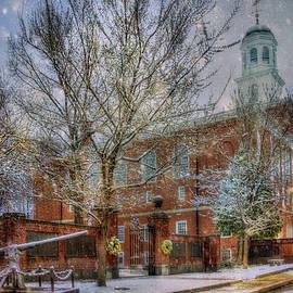 Joann Vitali - Snowy New England Morning in Peterborough New Hampshire