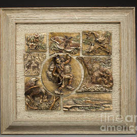 Dawn Senior-Trask - Snowy Range Life - Small Relief Panel