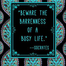 Scarebaby Design - Socrates Quote