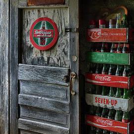 Priscilla Burgers - Soda Memorabilia Inside Paris Springs Garage