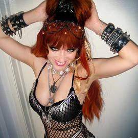 Sofia Metal Queen. Heavy metal fashion