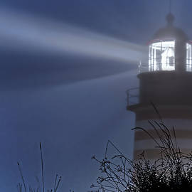 Marty Saccone - Soft Focus Fog - West Quoddy Head Lighthouse