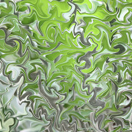 Carol Groenen - Soft Green and Gray Abstract